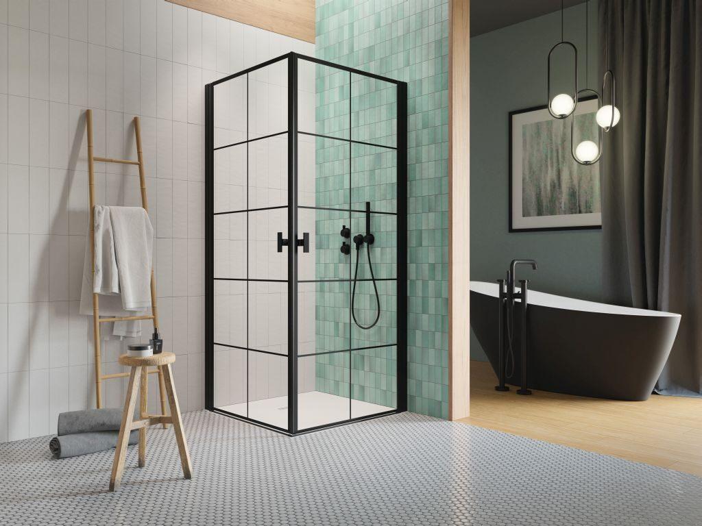 czarna kabina prysznicowa Radaway Zduńska Wola