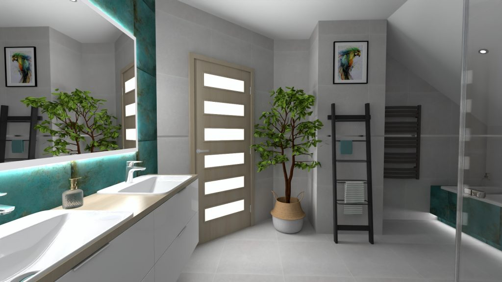 projekt łazienki Zduńska Wola