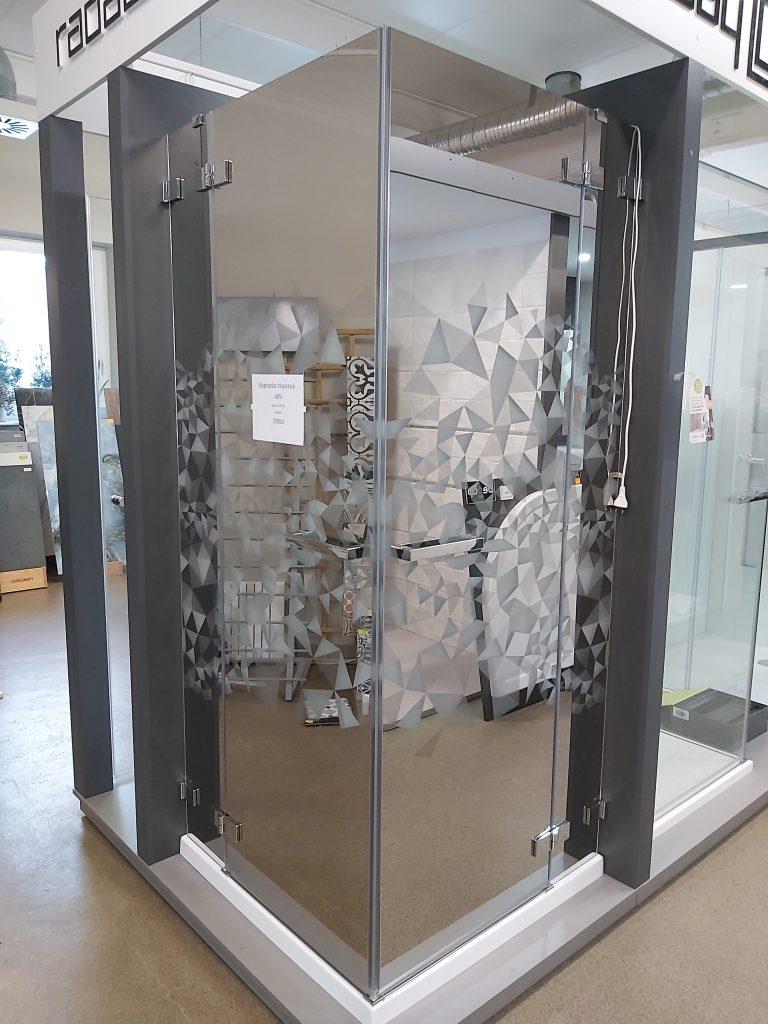 Wyprzedaż kabiny prysznicowej Radaway Euphoria kdd z grewerem crystal mirror