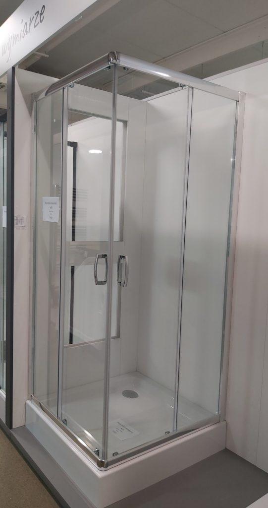 Kabina Radaway Premium Plus C 90x90 z rozsuwanymi drzwiami.