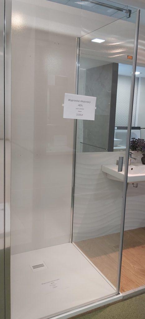 Kabina prysznicowa Radaway Nes KDJ 90x90 z drzwiami wahadłowymi